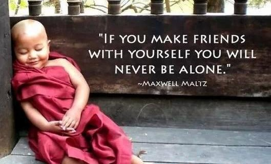 Make Friends With Your Self!